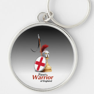 Warrior of England - Keychain (Circular)