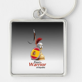 Warrior of España - Keychain (Square)