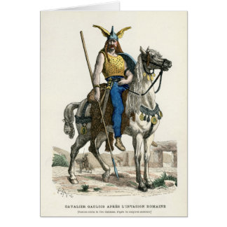Warrior of Gaul Greeting Card