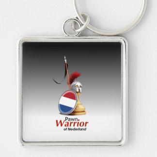 Warrior of Nederland - Keychain (Square)