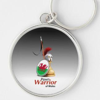 Warrior of Wales - Keychain (Circular)