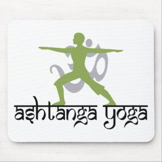 Warrior Pose Ashtanga Yoga Gift Mouse Pad