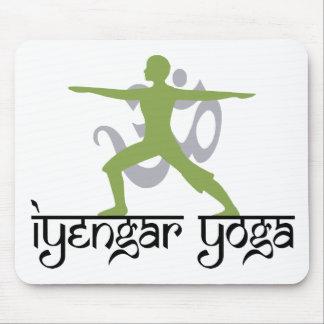 Warrior Pose Iyengar Yoga Gift Mousepad