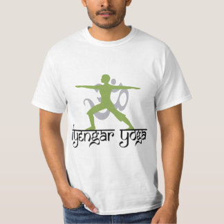 Warrior Pose Iyengar Yoga T-Shirt