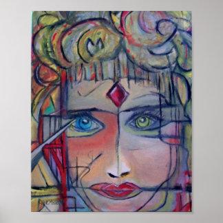 "Warrior Princess by ValAries- 8"" x 10"" Print"