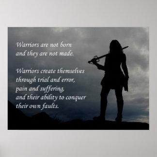 Warrior Print