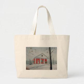 Warrior Run Presbyterian Church (winter) Jumbo Tote Bag