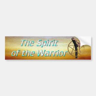 Warrior Spirit 2 Car Bumper Sticker