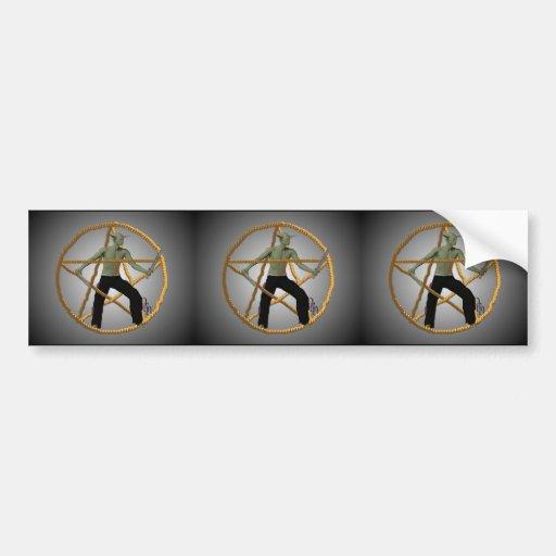 Warrior Spirit Bumper Sticker