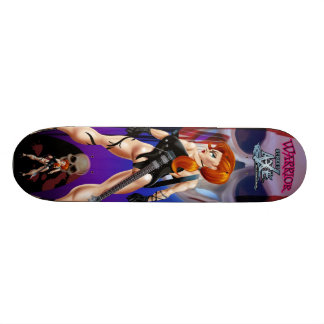 Warrior Street Axe 18.1 Cm Old School Skateboard Deck