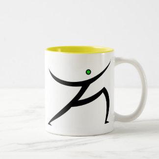 Warrior Two-Tone Mug