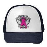Warrior Vintage Wings - Breast Cancer v2