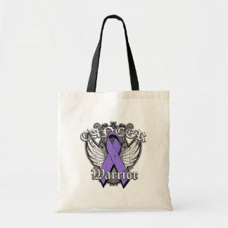 Warrior Vintage Wings - Hodgkins Lymphoma Tote Bag