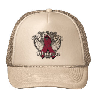 Warrior Vintage Wings - Multiple Myeloma Mesh Hats