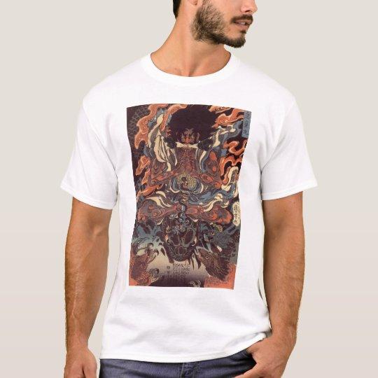 Warrior vs. demon snake T-Shirt