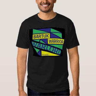 Warrior Warlord Black T Shirt