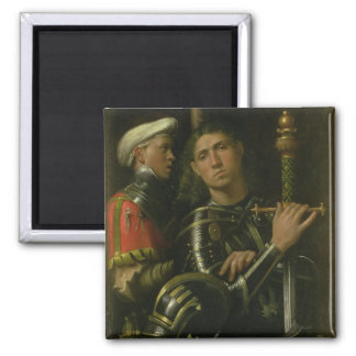 Warrior with Groom (oil) Magnet