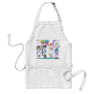 Warriors of Art Standard Apron