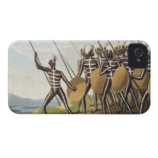 Warriors of New South Wales, engraved by Matthew D iPhone 4 Cover