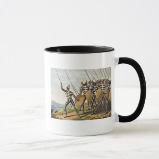 Warriors of New South Wales, engraved by Matthew D Mug