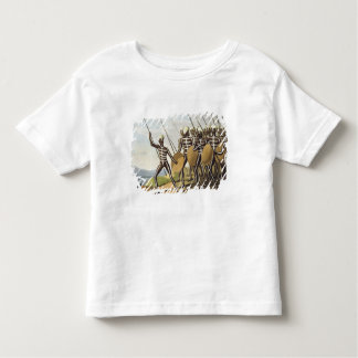 Warriors of New South Wales, engraved by Matthew D Toddler T-Shirt