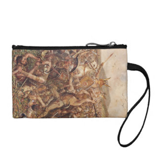 Warriors Storming the Battlefield Coin Wallet