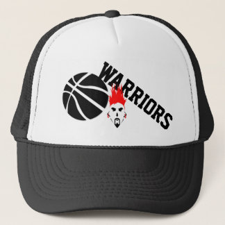 Warriors Trucker Basketball Hat