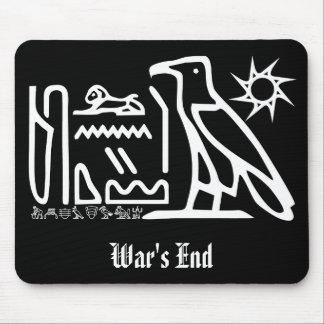War's End Hieroglyph Goth Mousepad