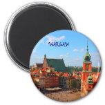 Warsaw 6 Cm Round Magnet