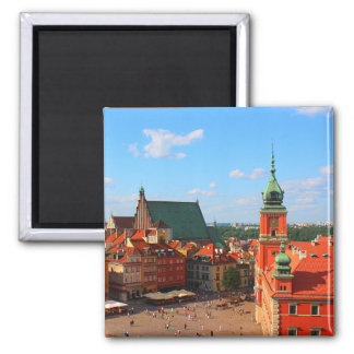 Warsaw Refrigerator Magnet
