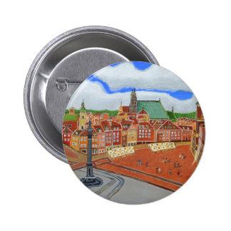 Warsaw-Old Town 6 Cm Round Badge