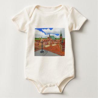 Warsaw-Old Town Baby Bodysuit