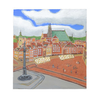 Warsaw-Old Town Notepad