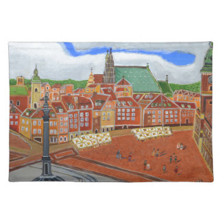 Warsaw-Old Town Placemat