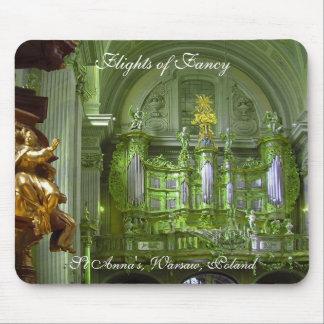Warsaw organ - Flights of Fancy Mouse Pad