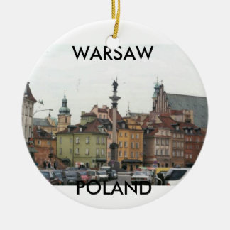 WARSAW POLAND OLD TOWN CHRISTMAS ORNAMENT