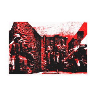 Warsaw Uprising Canvas Print