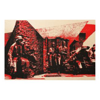 Warsaw Uprising Wood Print