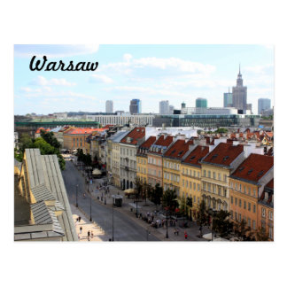 Warsaw View Postcard