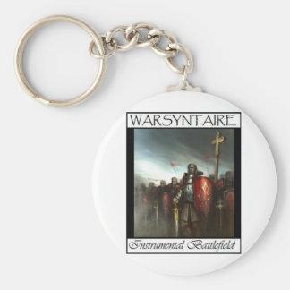 WarSyntaire Instrumental Battlefield Branded items Basic Round Button Key Ring