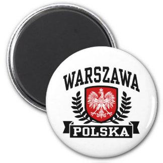 Warszawa Polska Magnet