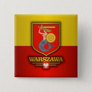 Warszawa (Warsaw) 15 Cm Square Badge