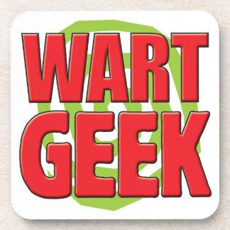 Wart Geek Drink Coasters