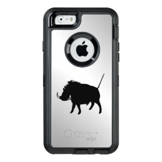 Wart Hog Silver OtterBox Defender iPhone Case