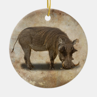 WARTHOG CHRISTMAS ORNAMENT