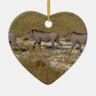 Warthog Parade Tom Wurl Christmas Ornament