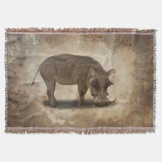 WARTHOG THROW BLANKET