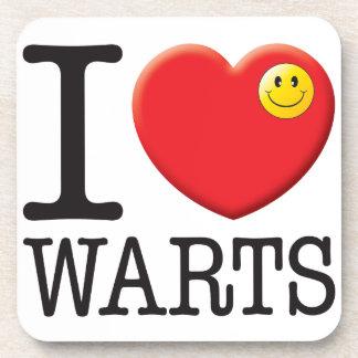 Warts Love Coaster