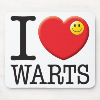 Warts Love Mouse Mat