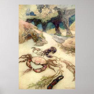 Warwick Goble Undersea World Poster